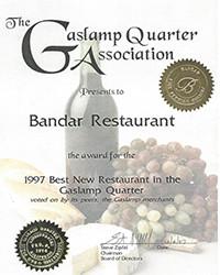 1997 - Best New Restaurant