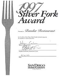 1997 - Silver Fork Award
