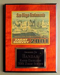 2001 - Zagat