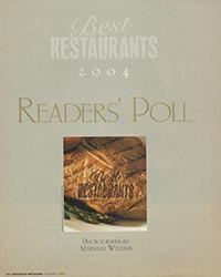 2004 - Reader's Poll