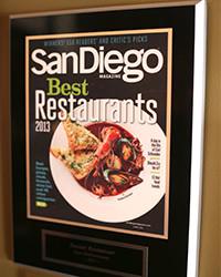2013 - SD Mag - Best Restaurants