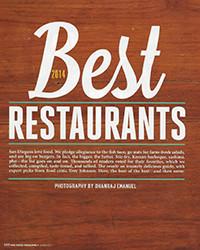 2014 - Best Restaurants