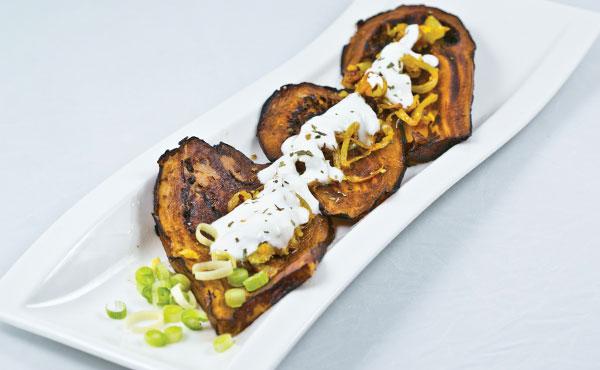 Bandar Eggplant Appetizer