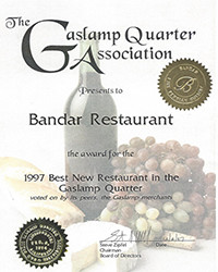 1997 - Best New Restaurant