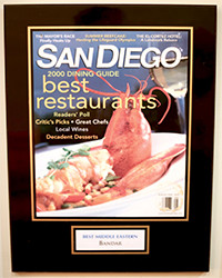 2000 - SD Dining - Best Middle Eastern