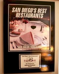 2003 - SD Mag - Best Restaurants