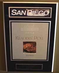 2004 - SD Mag - Best Restaurants