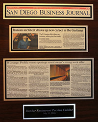 2006 - SD Business - Best Persian