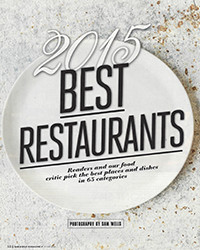 2015 - Best Restaurants