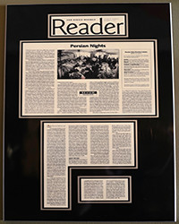 SD Reader - Persian Nights